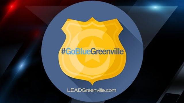 Go Blue Greenville logo (Courtesy: LEAD Greenville)