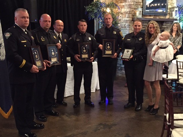 Officers earning awards for efforts to save Allen Jacobs (May 19, 2017/FOX Carolina)