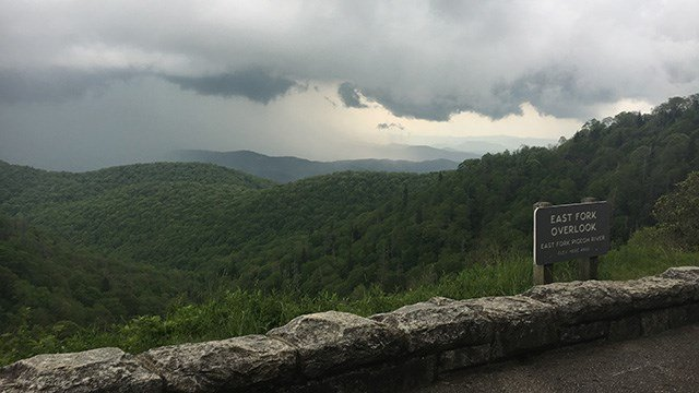 East Fork Overlook (May 19, 2017/FOX Carolina)