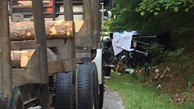 Coroner responding to Honea Path crash (FOX Carolina/ 5/19/17)