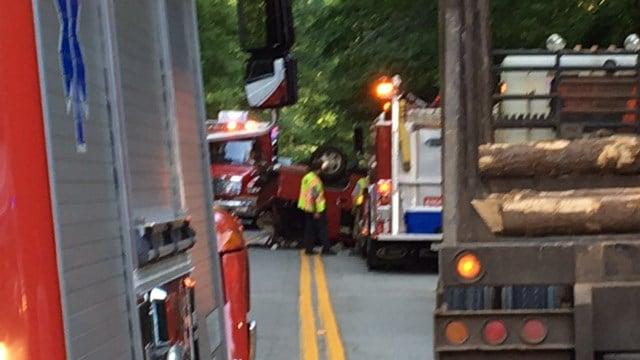 Coroner responding to Honea Path crash (FOX Carolina/ 5/19/17)