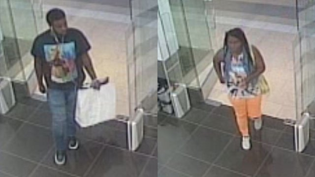 Suspects in Sephora larceny (Source: Greenville Police Dept.)