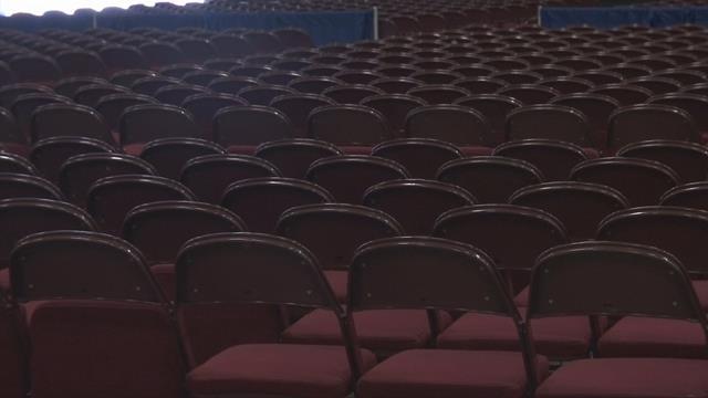 Inside Anderson Civic Center. (FOX Carolina 5/23/17)