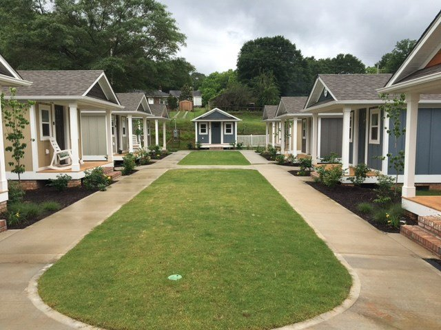 Dream Center participants move into Opportunity Village. (FOX Carolina/ May 24, 2017)