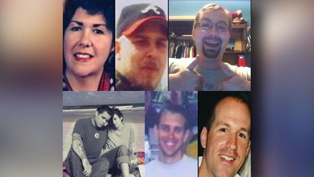 Victims of Todd Kohlhepp (file/FOX Carolina)