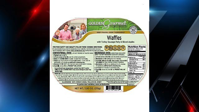 Packaging of recalled Golden Gourmet products (Source: Golden Gourmet website)