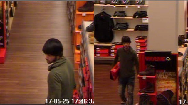 Police seek suspect in strong arm robbery at Upstate department store (FOX Carolina/ 5/25/17)
