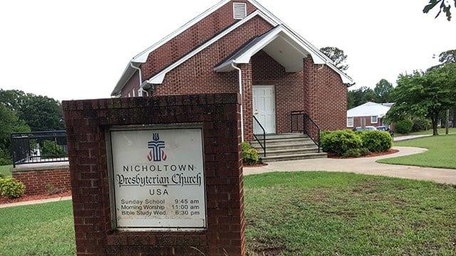Nicholtown Presbyterian Church (FOX Carolina/ 5/25/17)