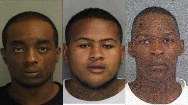 Left to right: Jamaal Higgins, Tarrance Mckissick and Robert Reynolds (Source: Woodruff Police)