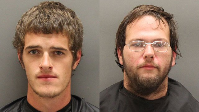 Evan Powell (L) and Michael Price (Source: OCSO)