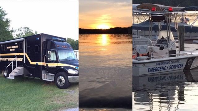 Day 3 of searching begins on Lake Greenwood (FOX Carolina/ May 29, 2017)