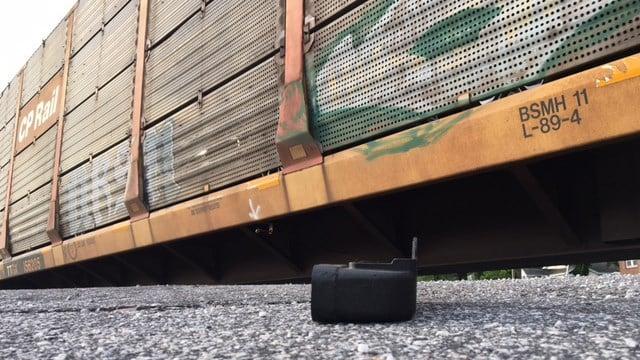 Scene of train collision involving car in Union Co. (5/30/17 FOX Carolina)