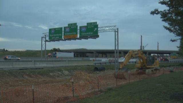 I-85 construction zone (File)