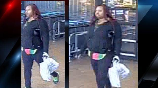 Surveillance photos of the suspect (Courtesy: GPD)