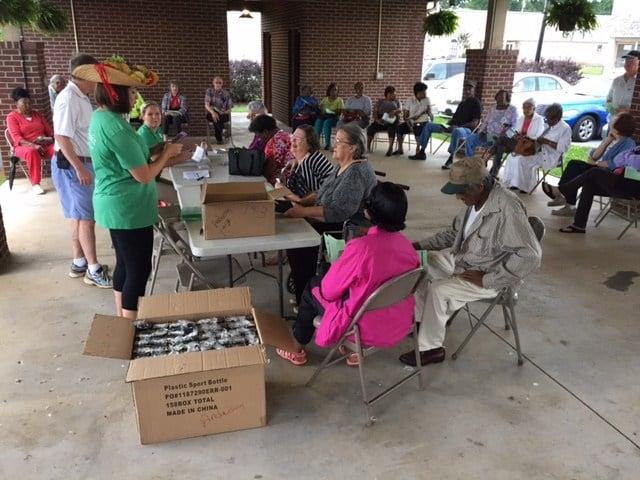 Anderson Co. senior citizens applying for Farmer's Market voucher (Fox Carolina/ File)