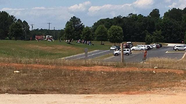 Evacuation at Rudolph Gordon Elementary (Source: iWitness)