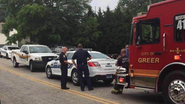 Death investigation in Greer (June 1, 2017/FOX Carolina)