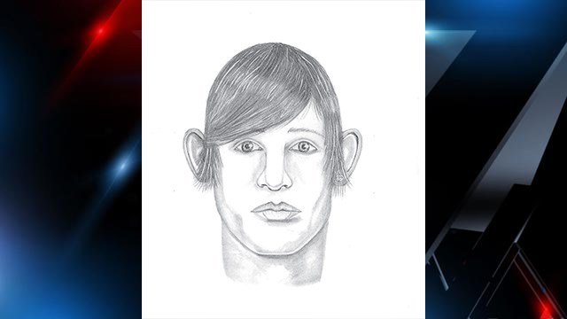 Composite sketch of suspect. (Source: Spartanburg PD)