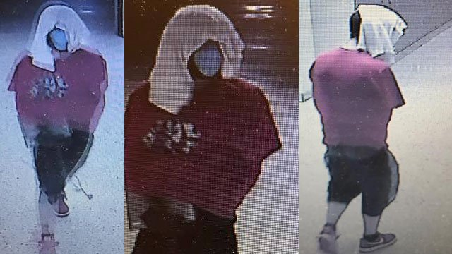 Surveillance footage of the suspect (Courtesy: TCSO)
