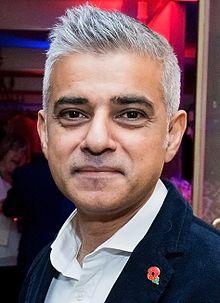 Sadiq Khan, Mayor of London (Source: Wikipedia)