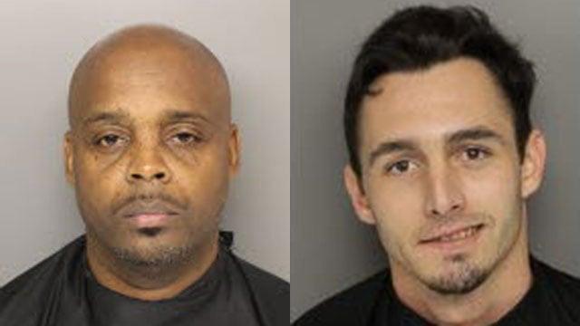 Bruce Wilson (L) and Joseph Bledsoe (Source: Greenville Co. Detention)