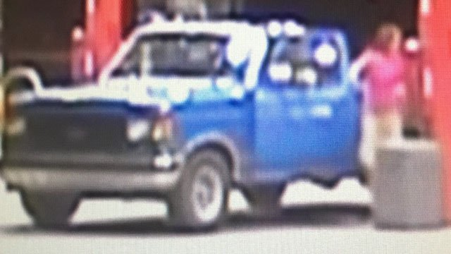 Photo of the suspect's vehicle (Source: RCSO)