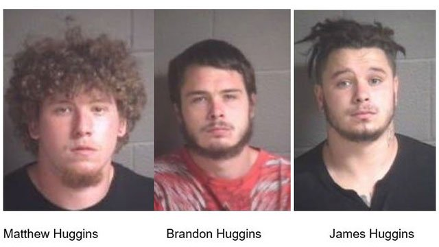 Huggins brothers (Source: District Attorney)