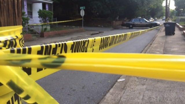 Scene of shooting in Anderson. (FOX Carolina/ 6/7/17/)