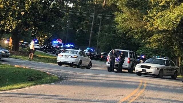 Scene of shooting on Brown Road (Source: Nanitsa Papadopoulos)