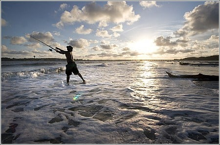 Fishing on Hunting Island (Courtesy: South Carolina Parks)