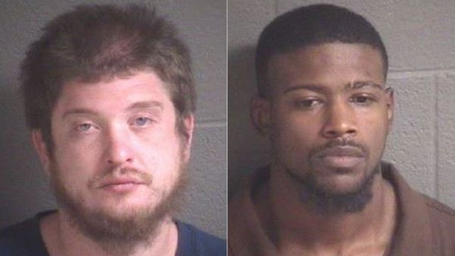 Devan Michael (L) and Travis Brown (Source: BCSO)