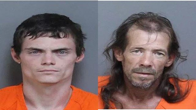 Michael Alan Ford (left) and Jerry Wayne Johnson, Jr. (right) (Source: LCSO)