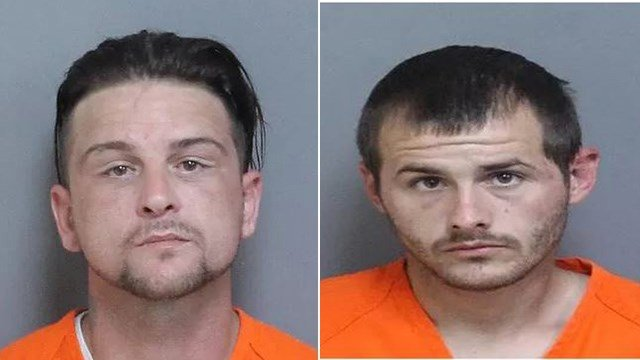 Robert Paul Maes (left) and Ricky Jay Owens, Jr. (right) (Source: LCSO)