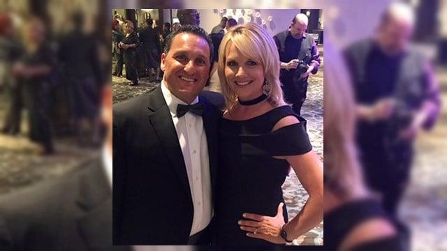 Diana Watson and husband at NATAS Emmy award ceremony.