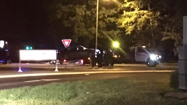 Scene of Anderson Co. crash (FOX Carolina/ 6/11/17)