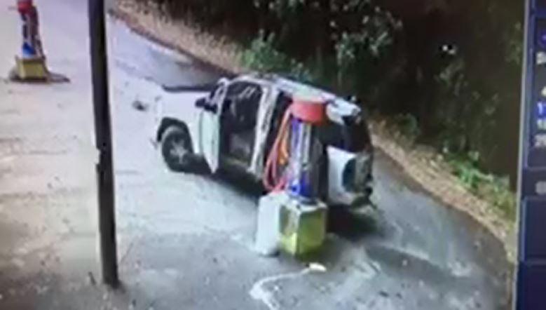 Vandalism at vacuum machine in Belton (Source: Belton PD)