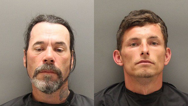 Lloyd Elmer Pearson (L), Novie Michael Phillips (R). (Source: OCSO)