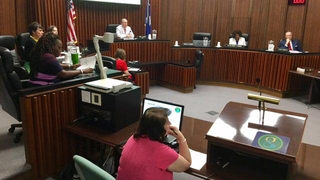 Greenville City Council meeting. (6/12/17 FOX Carolina)