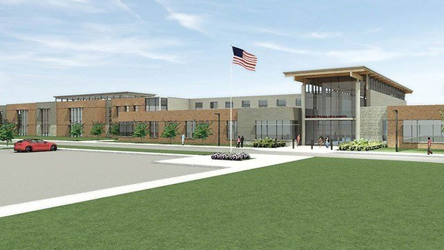 Renderings: New Boiling Springs High School. (Source: Spartanburg Dist. 2)