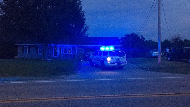 Scene of reported shooting in Union Co. (6/13/17 FOX Carolina)