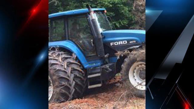 Stolen Ford tractor (Source: MCSO)