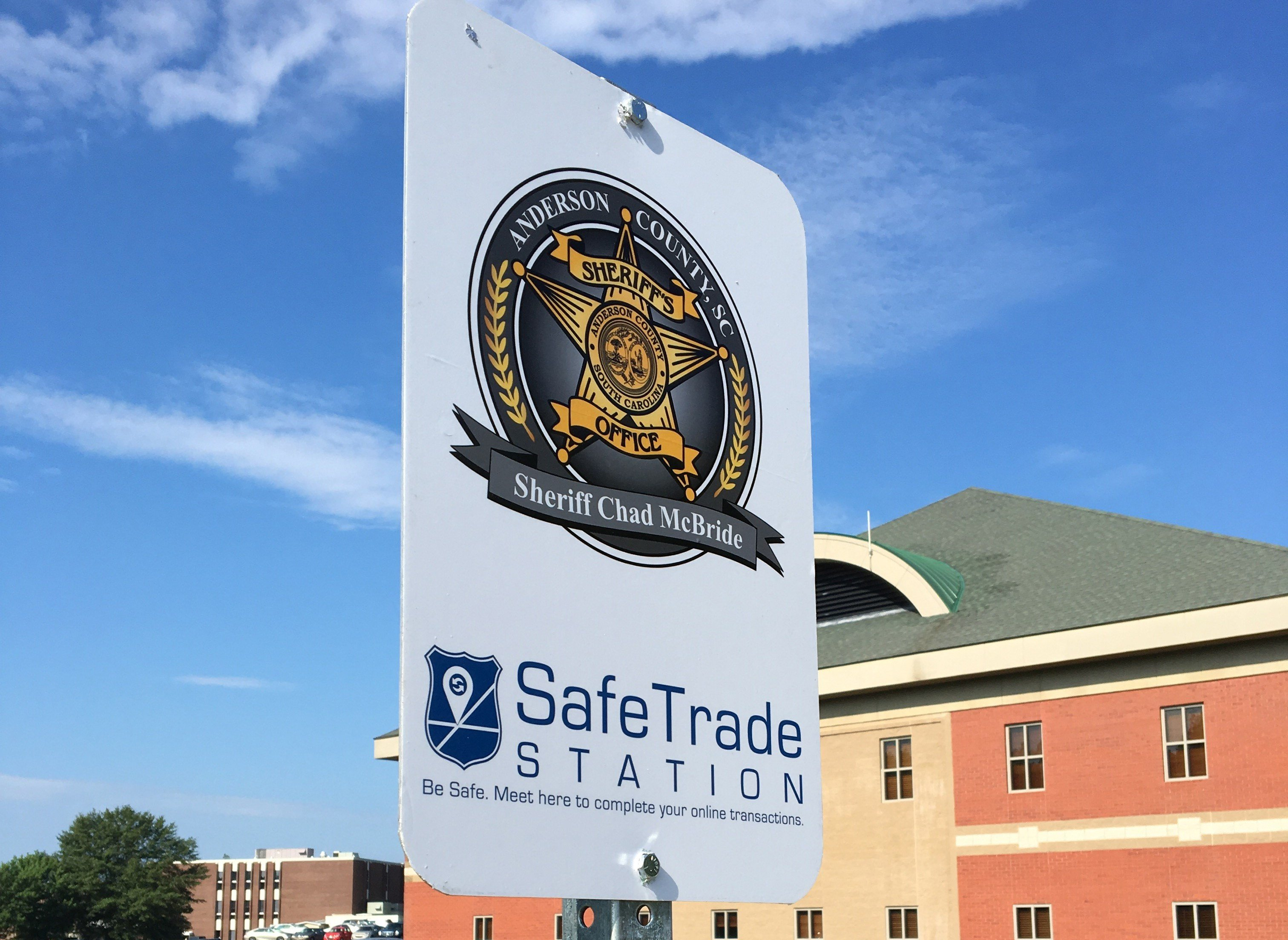 Anderson County Sheriff's Office SafeTrade Station (SOURCE: ACSO)