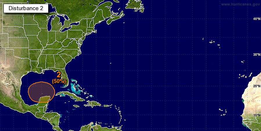 National Hurricane Center 5-Day Outlook