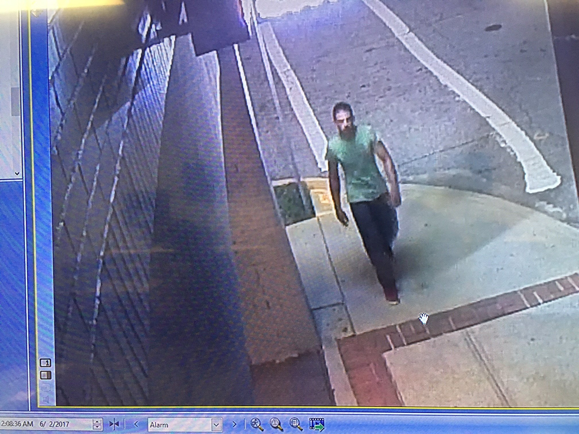 Suspect in downtown Greenville assault (Source: GPD)