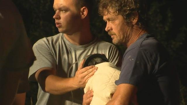 Dog rescued from well (June 15, 2017/FOX Carolina)