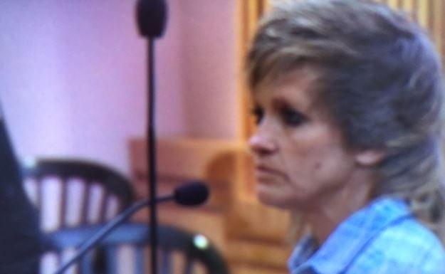 Debra Sheridan in court on June 16, 2017 (FOX Carolina)