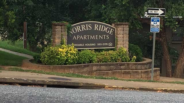Norris Ridge Apartments (June 16, 2017/FOX Carolina)
