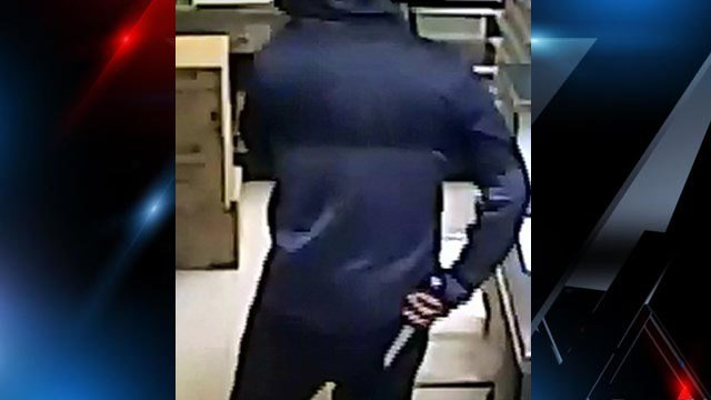 Deputies are searching for the suspect pictured after a robbery at Subway. (6/17/17 FOX Carolina)