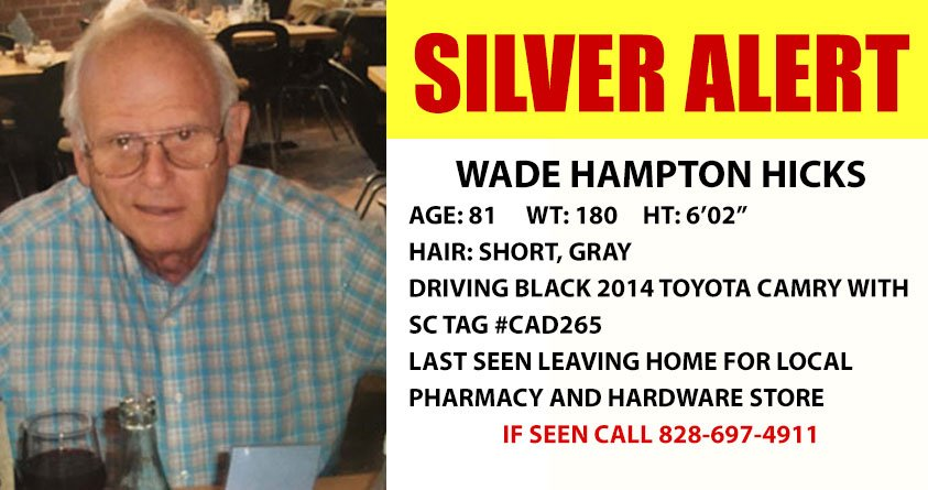 Wade Hampton Hicks (Source: HCSO)