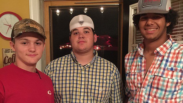 Dillon Ray Spears (left) and friends. (Source: Family friends)
